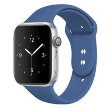 Load image into Gallery viewer, Apple Watch Band Silicone 38mm/40mm/42mm/44mm Elite Fitness Essentials 19 Royal Blue 42MM OR 44MM ML