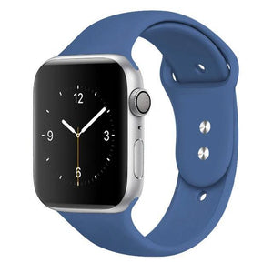 Apple Watch Band Silicone 38mm/40mm/42mm/44mm Elite Fitness Essentials 19 Royal Blue 42MM OR 44MM ML