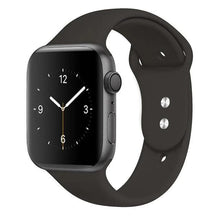Load image into Gallery viewer, Apple Watch Band Silicone 38mm/40mm/42mm/44mm Elite Fitness Essentials 29 cocoa 42MM OR 44MM ML