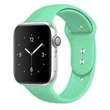 Load image into Gallery viewer, Apple Watch Band Silicone 38mm/40mm/42mm/44mm Elite Fitness Essentials 36 Spearmint 42MM OR 44MM ML