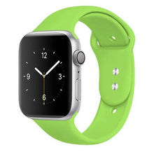 Load image into Gallery viewer, Apple Watch Band Silicone 38mm/40mm/42mm/44mm Elite Fitness Essentials 4 Green 42MM OR 44MM ML