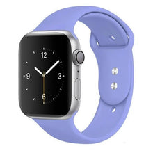 Load image into Gallery viewer, Apple Watch Band Silicone 38mm/40mm/42mm/44mm Elite Fitness Essentials 40 Lavender 42MM OR 44MM ML