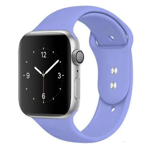 Apple Watch Band Silicone 38mm/40mm/42mm/44mm Elite Fitness Essentials 40 Lavender 42MM OR 44MM ML