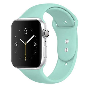 Apple Watch Band Silicone 38mm/40mm/42mm/44mm Elite Fitness Essentials 42 marine green 42MM OR 44MM ML