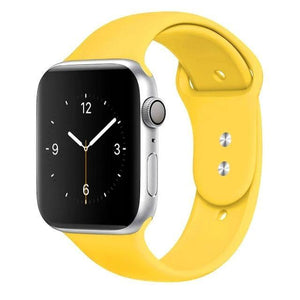 Apple Watch Band Silicone 38mm/40mm/42mm/44mm Elite Fitness Essentials Color 44 42MM OR 44MM ML
