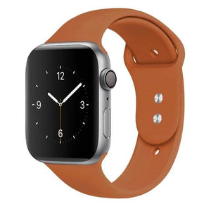 Apple Watch Band Silicone 38mm/40mm/42mm/44mm Elite Fitness Essentials Color 48 42MM OR 44MM ML