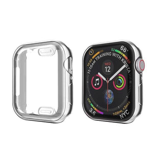 Apple Watch Cover Case 38mm/40mm/42mm/44mm Elite Fitness Essentials Silver Series 123 38MM