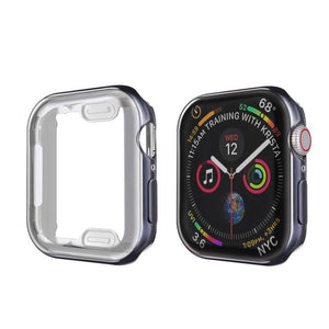 Apple Watch Cover Case 38mm/40mm/42mm/44mm Elite Fitness Essentials Space gray Series 4 5 44MM