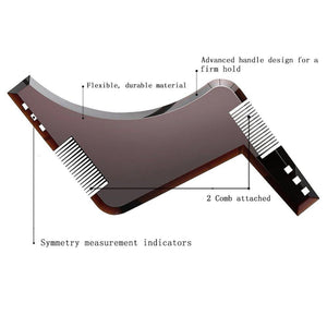 Beard Shaping Tool Elite Fitness Essentials