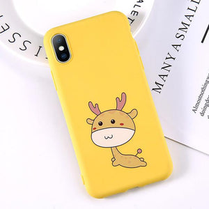 Cartoon & Quote iPhone Case Elite Fitness Essentials for iphone 7 8 Plus T11