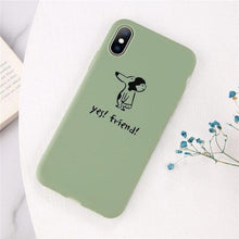 Load image into Gallery viewer, Cartoon & Quote iPhone Case Elite Fitness Essentials for iphone X XS T3
