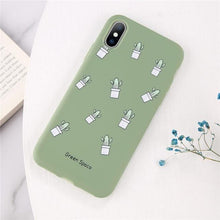 Load image into Gallery viewer, Cartoon & Quote iPhone Case Elite Fitness Essentials for iphone XS Max Cacti