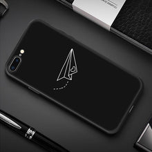 Load image into Gallery viewer, Creative iPhone Case Elite Fitness Essentials For iPhone 7 Plus Paper Airplane