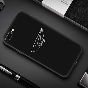 Creative iPhone Case Elite Fitness Essentials For iPhone 7 Plus Paper Airplane