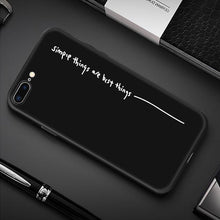 Load image into Gallery viewer, Creative iPhone Case Elite Fitness Essentials For iPhone XS Simple Quote