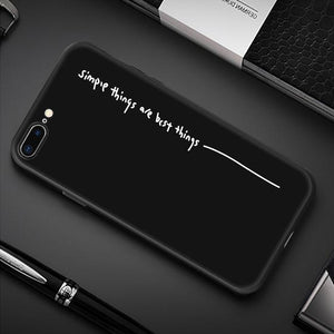 Creative iPhone Case Elite Fitness Essentials For iPhone XS Simple Quote