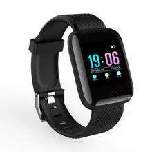 Load image into Gallery viewer, Elite Fitness Tracker w/ HR & BP Monitor Elite Fitness Essentials Black