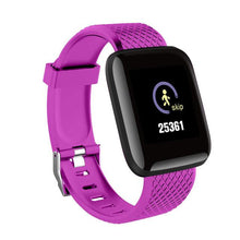 Load image into Gallery viewer, Elite Fitness Tracker w/ HR & BP Monitor Elite Fitness Essentials Purple