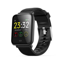 Load image into Gallery viewer, Elite Smart Watch w/ HR & BP Monitor Elite Fitness Essentials Black