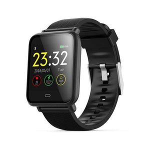 Elite Smart Watch w/ HR & BP Monitor Elite Fitness Essentials Black