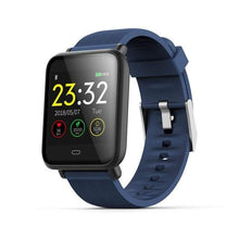 Load image into Gallery viewer, Elite Smart Watch w/ HR & BP Monitor Elite Fitness Essentials Blue