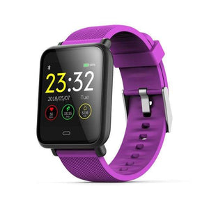 Elite Smart Watch w/ HR & BP Monitor Elite Fitness Essentials Purple