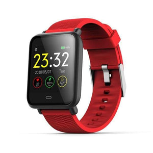 Elite Smart Watch w/ HR & BP Monitor Elite Fitness Essentials Red