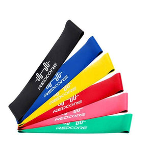 Loop Resistance Bands - 6 Piece or 4 Piece Set Elite Fitness Essentials