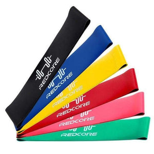 Loop Resistance Bands - 6 Piece or 4 Piece Set Elite Fitness Essentials 6 pieces