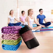 Load image into Gallery viewer, Non-Slip Yoga Mat Cover/Towel Elite Fitness Essentials