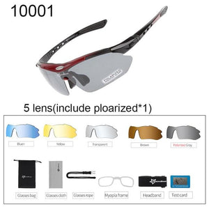 Polarized Cycling Sunglasses Elite Fitness Essentials 10001