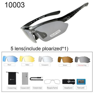 Polarized Cycling Sunglasses Elite Fitness Essentials 10003