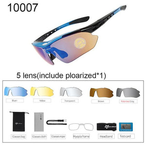 Polarized Cycling Sunglasses Elite Fitness Essentials 10007