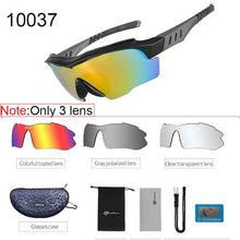 Load image into Gallery viewer, Polarized Cycling Sunglasses Elite Fitness Essentials Gray 2