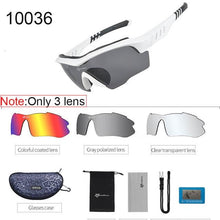 Load image into Gallery viewer, Polarized Cycling Sunglasses Elite Fitness Essentials White 2