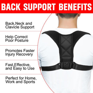 Posture Correcting Back Brace - Elite Fitness Essentials