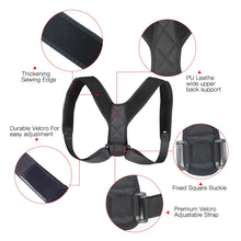 Load image into Gallery viewer, Posture Correcting Back Brace Elite Fitness Essentials