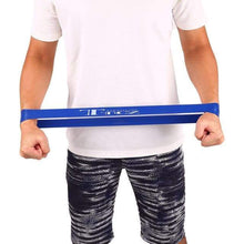 Load image into Gallery viewer, Single Loop Resistance Band - 4 levels available Elite Fitness Essentials SizeM Bule
