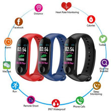 Load image into Gallery viewer, Smart Fitness Tracker w/ HR & BP Monitor - Elite Fitness Essentials