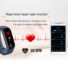 Load image into Gallery viewer, Smart Fitness Tracker w/ HR & BP Monitor Elite Fitness Essentials
