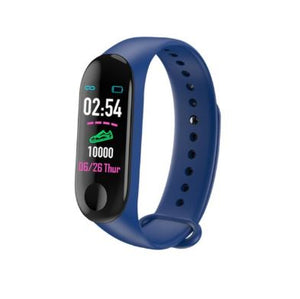Smart Fitness Tracker w/ HR & BP Monitor - Elite Fitness Essentials