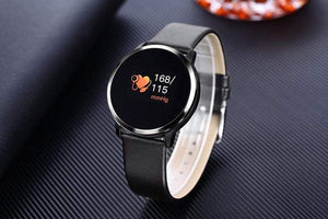 Smart Fitness Watch w/ HR & BP Monitor Elite Fitness Essentials