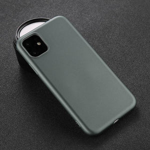 Solid Color iPhone Case Elite Fitness Essentials