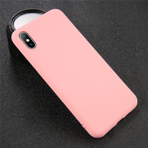 Solid Color iPhone Case Elite Fitness Essentials For iPhone 7 Pink