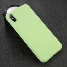 Load image into Gallery viewer, Solid Color iPhone Case Elite Fitness Essentials For iPhone 8 Green