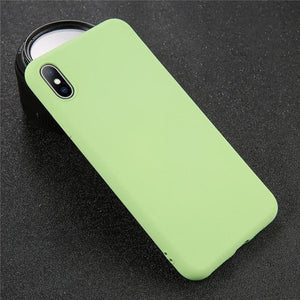 Solid Color iPhone Case Elite Fitness Essentials For iPhone 8 Green
