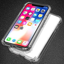 Load image into Gallery viewer, Transparent iPhone Case w/ Shockproof Bumper Elite Fitness Essentials