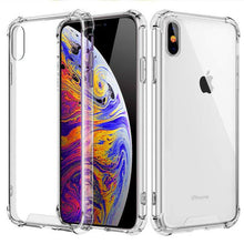 Load image into Gallery viewer, Transparent iPhone Case w/ Shockproof Bumper Elite Fitness Essentials For iphone XS T1