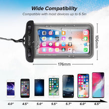 Load image into Gallery viewer, Universal Waterproof iPhone Case Elite Fitness Essentials