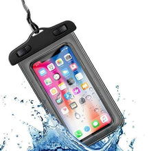 Load image into Gallery viewer, Universal Waterproof iPhone Case Elite Fitness Essentials Black